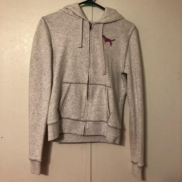 ab67d67bdb3ff Victoria's Secret zip up hoodie